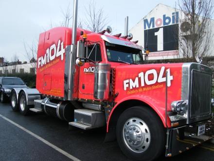 Truck Hit FM Dublin